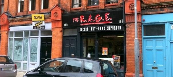 Anticdotes podcast 2, The Rage retro game shop, Fade Street Dublin