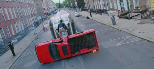 Anticdotes podcast 4, Ek Tha Tiger Dublin Luas scene