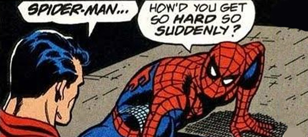 Anticdotes podcast 12 Superman and Spider-Man get intimate