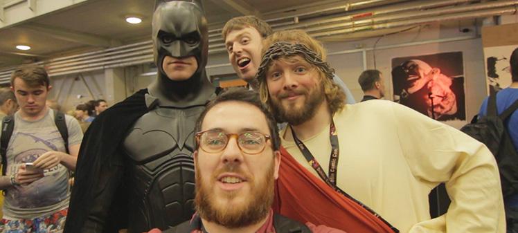 Anticdotes podcast ep 22, batman, jesus, dublin comic-con