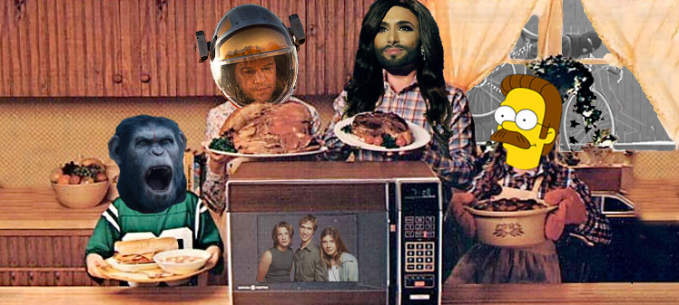 podcast 33, eurovision, simpsons, the martian and more