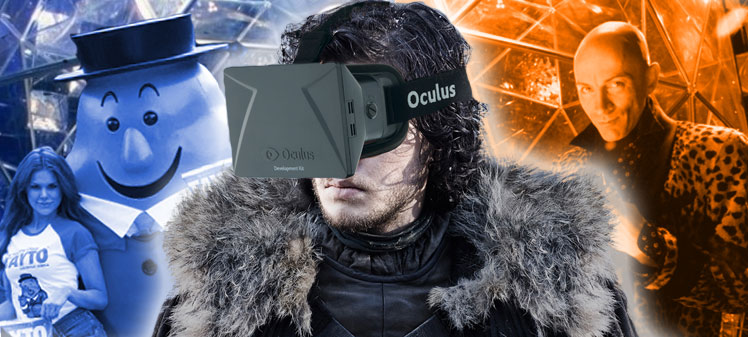 anticdotes podcast episode 34, Jon snow in virtual reality