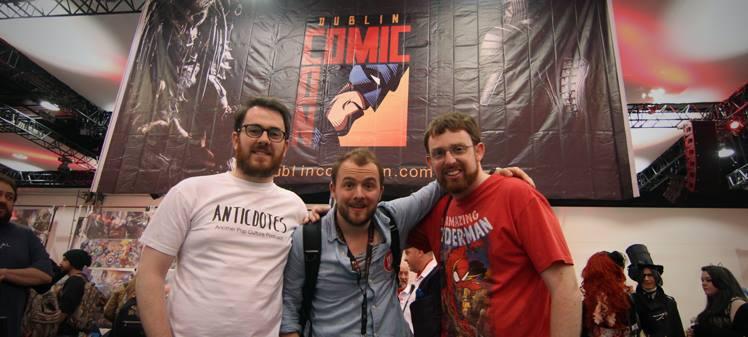 Anticdotes ep 37, Dublin Comic Con 2015 special