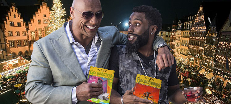 anticdotes podcast 39 yankover, The Rock, Ballers, Goosebumsp